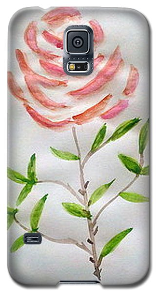 A Rose Is A Rose Is A Rose Galaxy S5 Case