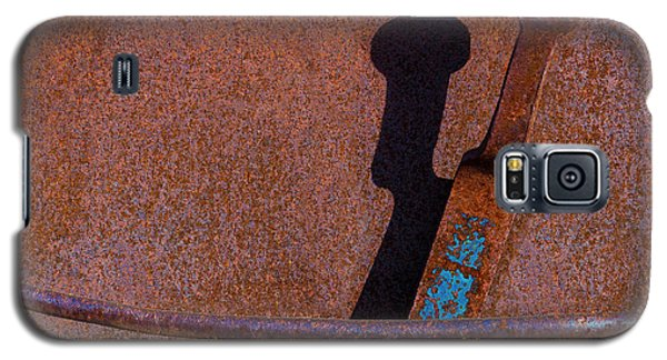 Galaxy S5 Case featuring the photograph A Rusted Development II by Paul Wear