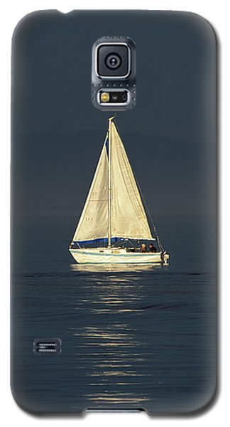 A Sailboat Capturing Light Galaxy S5 Case