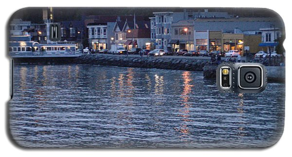 A Scenery Of Sausalito At Dusk Galaxy S5 Case