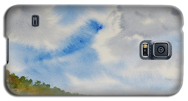 A Secluded Inlet Beneath Billowing Clouds Galaxy S5 Case