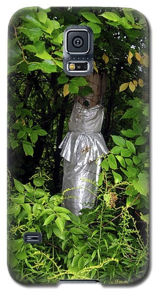 A Silver Gown In A Glade Galaxy S5 Case