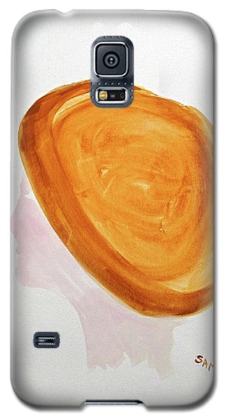 Galaxy S5 Case featuring the painting A Simple Hat by Sandy McIntire