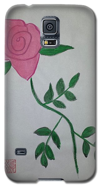 A Single Red Rose Galaxy S5 Case