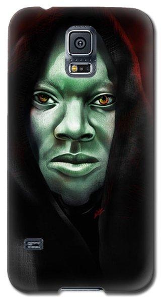Galaxy S5 Case featuring the digital art A Sith Fan by AC Williams