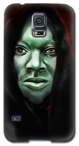 A Sith Fan Galaxy S5 Case by AC Williams