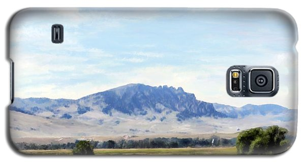 Galaxy S5 Case featuring the painting A Sleeping Giant by Susan Kinney