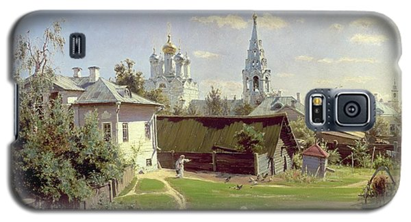A Small Yard In Moscow Galaxy S5 Case by Vasilij Dmitrievich Polenov