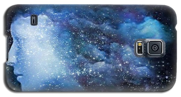 Galaxy S5 Case featuring the digital art A Soul In The Sky by Gun Legler