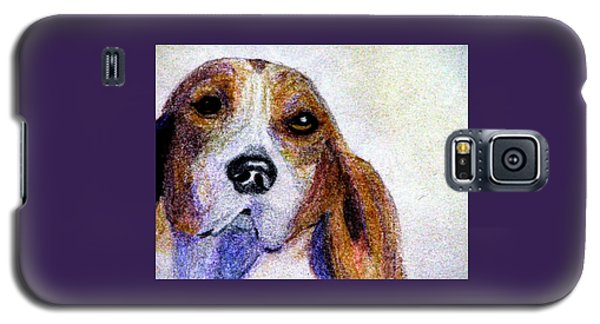 A Soulful Hound Galaxy S5 Case