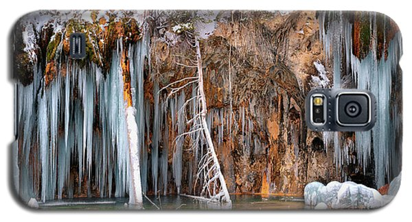 A Spring That Knows No Summer. - Hanging Lake Print Galaxy S5 Case