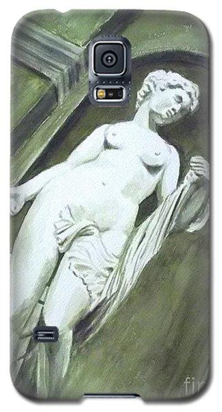 A Statue At The Toledo Art Museum - Ohio Galaxy S5 Case by Yoshiko Mishina