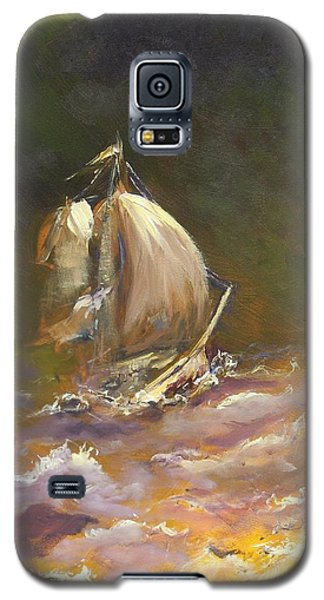 A Stormy Night At Sea Galaxy S5 Case