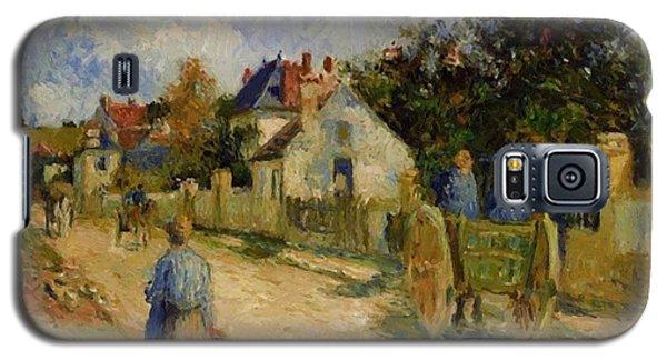 A Street In Pontoise 1879 Galaxy S5 Case