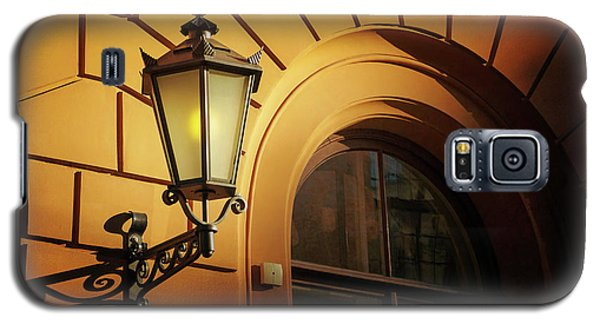 Galaxy S5 Case featuring the photograph A Street Lamp In Lisbon Portugal  by Carol Japp