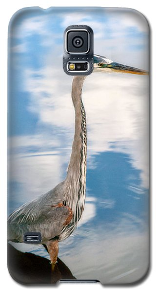 Galaxy S5 Case featuring the photograph A Stroll Among The Clouds by Christopher Holmes