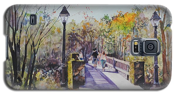 A Stroll On The Bridge Galaxy S5 Case