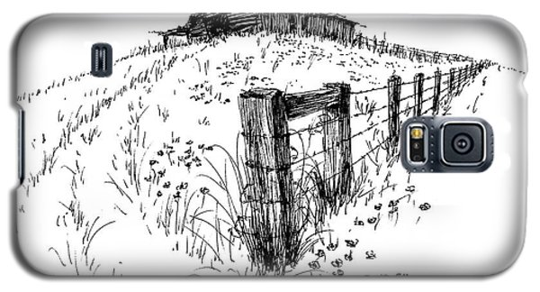 A Strong Fence And Weak Barn Galaxy S5 Case