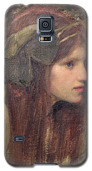 Portraits Galaxy S5 Case - A Study For A Naiad by John William Waterhouse