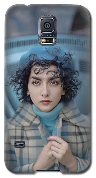 A Study In Blue Galaxy S5 Case by Anka Zhuravleva