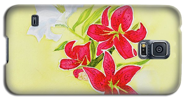 A Study Of Lilies Galaxy S5 Case