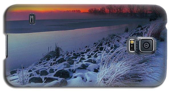 A Sunrise Cold Galaxy S5 Case