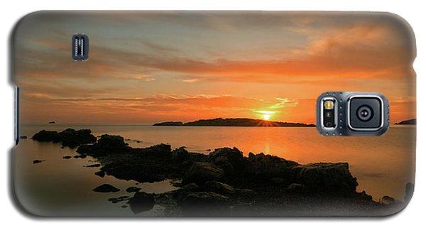 A Sunset In Ibiza Galaxy S5 Case