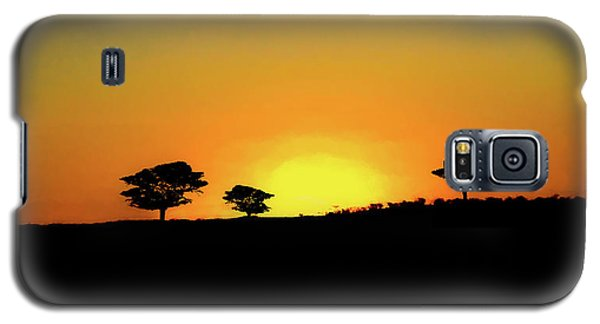 A Sunset In Namibia Galaxy S5 Case by Ernie Echols