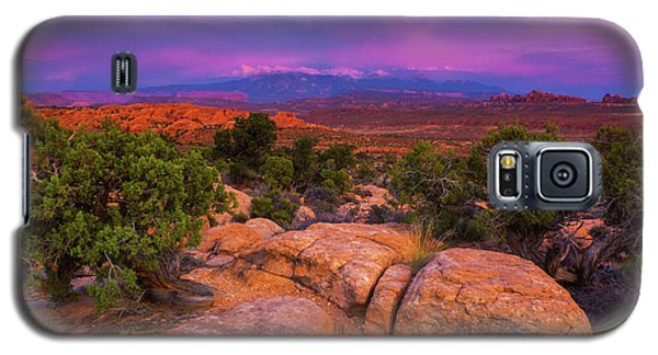 A Sunset Over Arches Galaxy S5 Case
