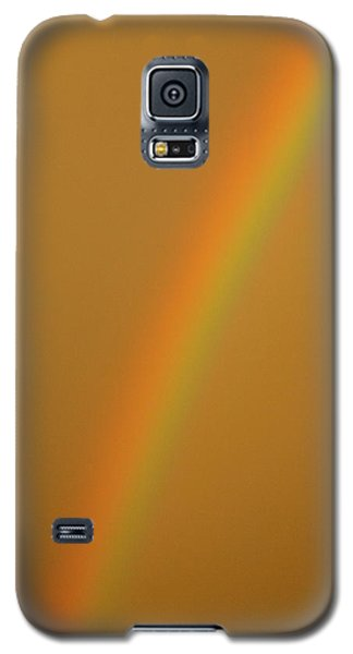 A Sunset Rainbow Galaxy S5 Case