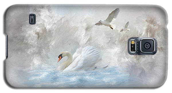 A Swan's Dream Galaxy S5 Case by Mary Timman