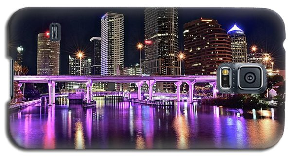 A Tampa Night Galaxy S5 Case by Frozen in Time Fine Art Photography