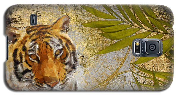 A Taste Of Africa Tiger Galaxy S5 Case by Mindy Sommers