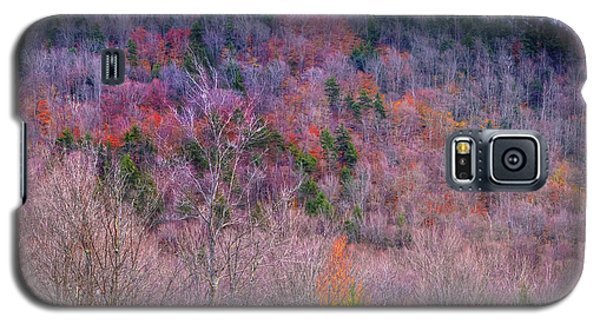 Galaxy S5 Case featuring the photograph A Touch Of Autumn by David Patterson