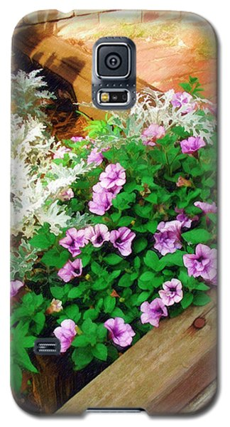 Galaxy S5 Case featuring the painting A Touch Of Nature by Sandy MacGowan