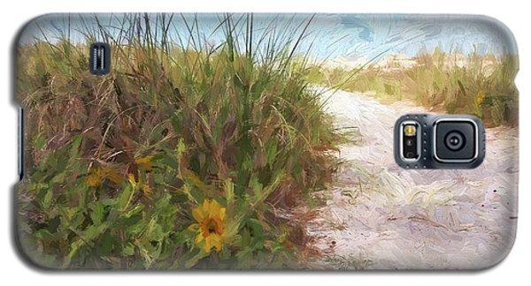 A Trail To The Beach Galaxy S5 Case