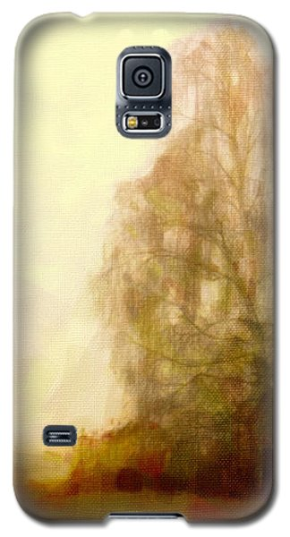 Galaxy S5 Case featuring the painting A Tree by Chris Armytage