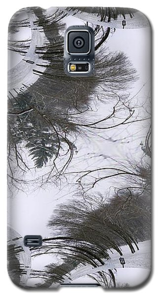Galaxy S5 Case featuring the digital art A Tree Fractal by Skyler Tipton