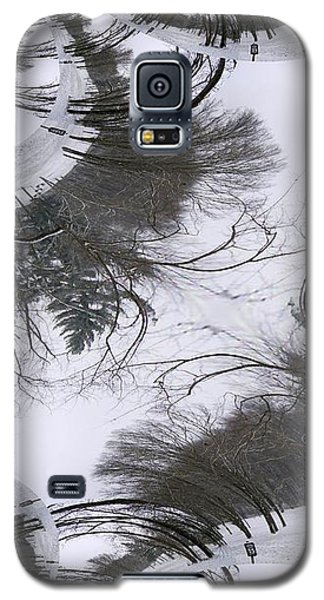 A Tree Fractal Galaxy S5 Case by Skyler Tipton