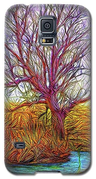 A Tree Greets Springtime Galaxy S5 Case