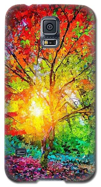A Tree In Glory Galaxy S5 Case