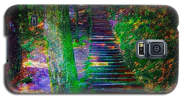 Galaxy S5 Case featuring the photograph A Trek by Iowan Stone-Flowers