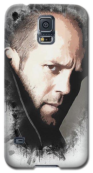 Movie Galaxy S5 Case - A Tribute To Jason Statham by Dusan Naumovski