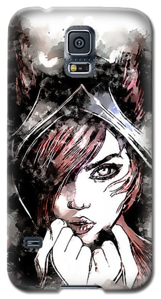 Nerd Galaxy S5 Case - A Tribute To Xayah by Dusan Naumovski