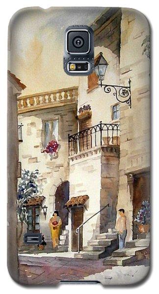 A Tuscan Street Scene Galaxy S5 Case