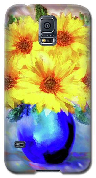 A Vase Of Sunflowers Galaxy S5 Case