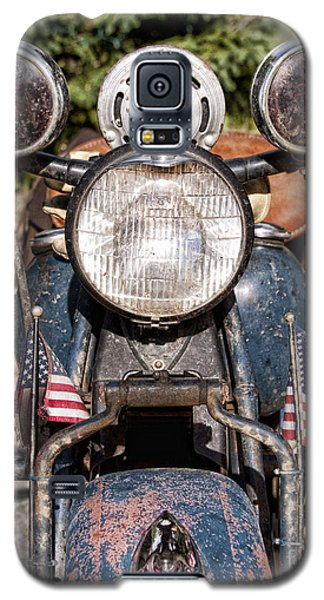 A Very Old Indian Harley-davidson Galaxy S5 Case by James BO  Insogna