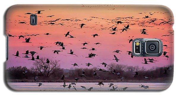 A Vibrant Evening Galaxy S5 Case