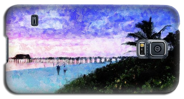 A View At Naples Pier Galaxy S5 Case