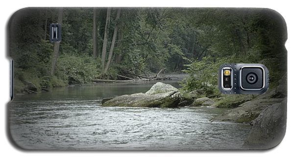 Galaxy S5 Case featuring the photograph A View Downstream by Donald C Morgan